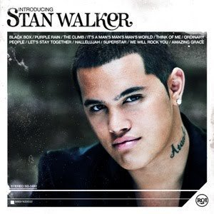 """Introducing...Stan Walker"" Album Cover."