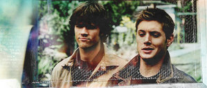toi don't have to wait long for a smirk from Dean ou a pout from Sammy.