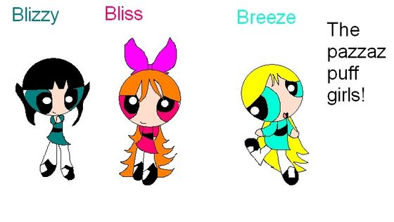 The PazzazPuff Girls!