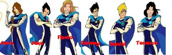 Aero, Jake, Flavio, Jeremy, Daniel and Terence...