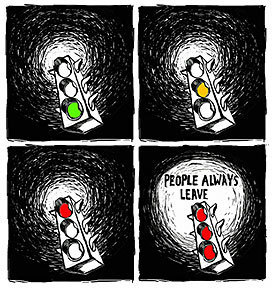 PEOPLE ALWAYS LEAVE!