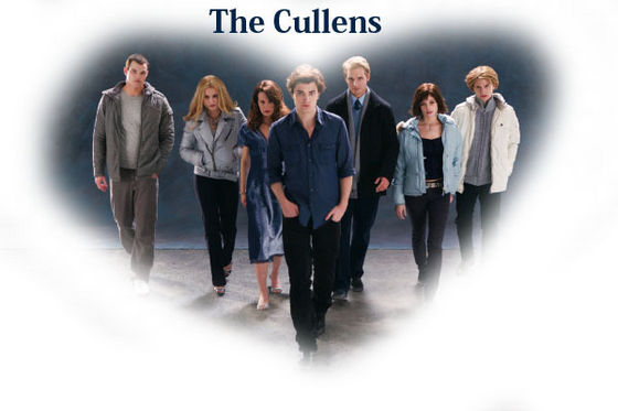 wewe gotta upendo the Cullens