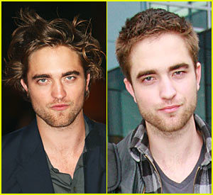 Robert Pattinson has a hair cut