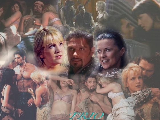 Xena warrior princess gabrielle and ares
