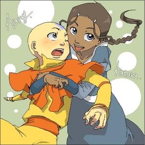 Katara likes Aang