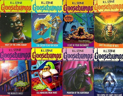 Goosebumps Covers With Coolest