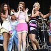 The girls supporting coldpaly at wembely stadium 2009 perry-123 photo