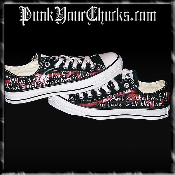 5867852c23e2 Fanpop - punkyourchucks s Photo  Twilight Converse Low Tops feature ...
