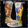 Grateful Dead Hippie Knee High Converse custom painted by www.punkyourchucks.com punkyourchucks photo