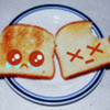 Aww cute toast raknaff photo