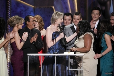 Cory and Glee Cast Win SAG Award