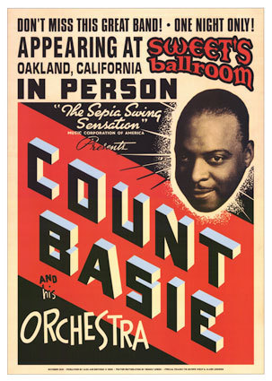 Count Basie and His Orchestra (show poster)