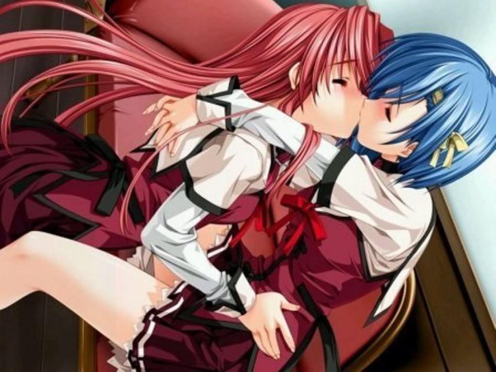 Anime Cute Lesbians lesbian/bisexual anime wallpaper - lgbt wallpaper (10092772