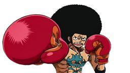 Luffy With An Afro