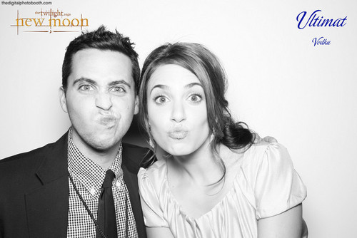 Digital Photobooth 사진 from New Moon Premiere