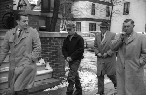 Ed Gein is arrested