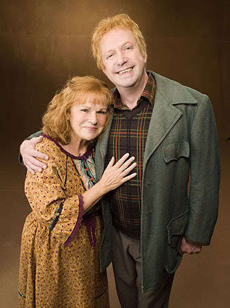 Mr. and Mrs. Weasley:)