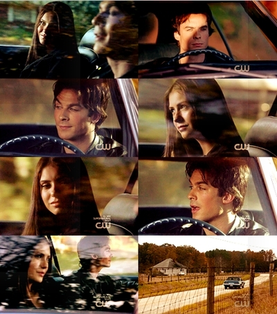 damon/elena moments