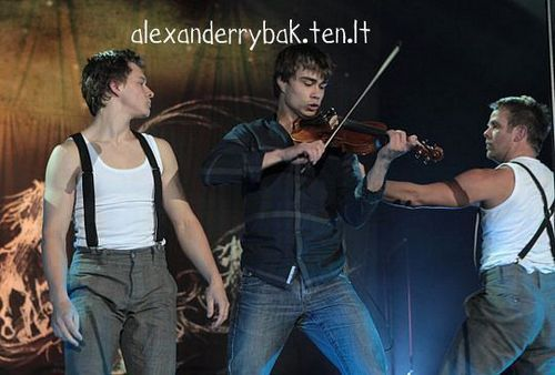 Alexander Rybak in Lithuania