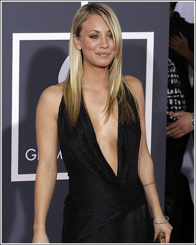 Kaley Cuoco - Grammy Awards 2010
