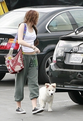 Miley in Hollywood