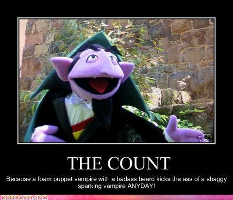 The Count appreciation