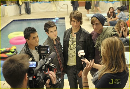 Big Time Rush- premier interview