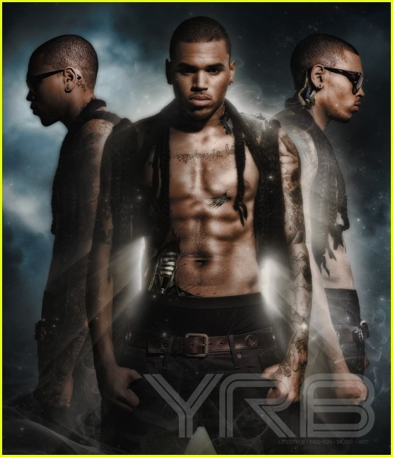 CB cover mag - chris-brown photo