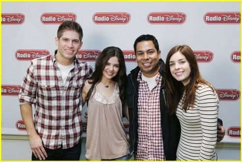 Maggie kastilyo and Danielle Campbell - Radio Disney Take Over