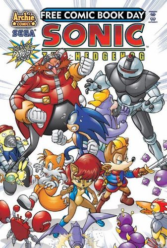 Sonic Free Comicbook