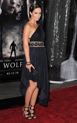 The LA Premiere of 'The Wolfman'