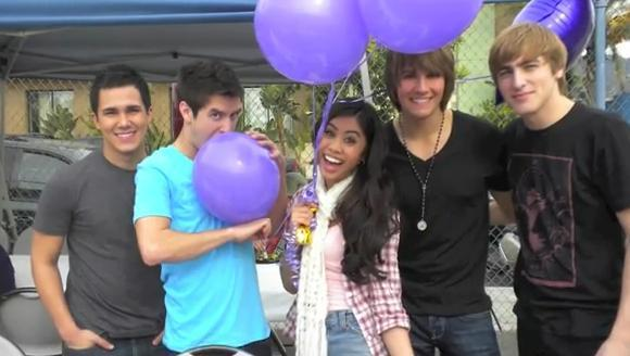 Big Time Rush - balloons