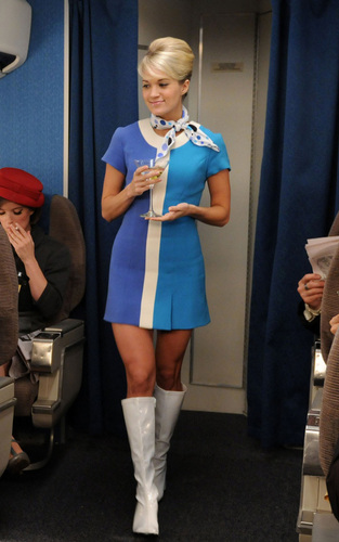 Carrie Filming HIMYM