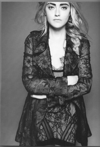 Dakota Fanning Outtakes For Vogue