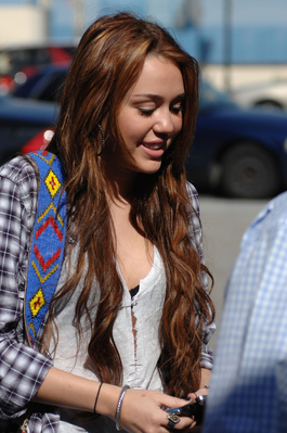 Miley out in Burbank