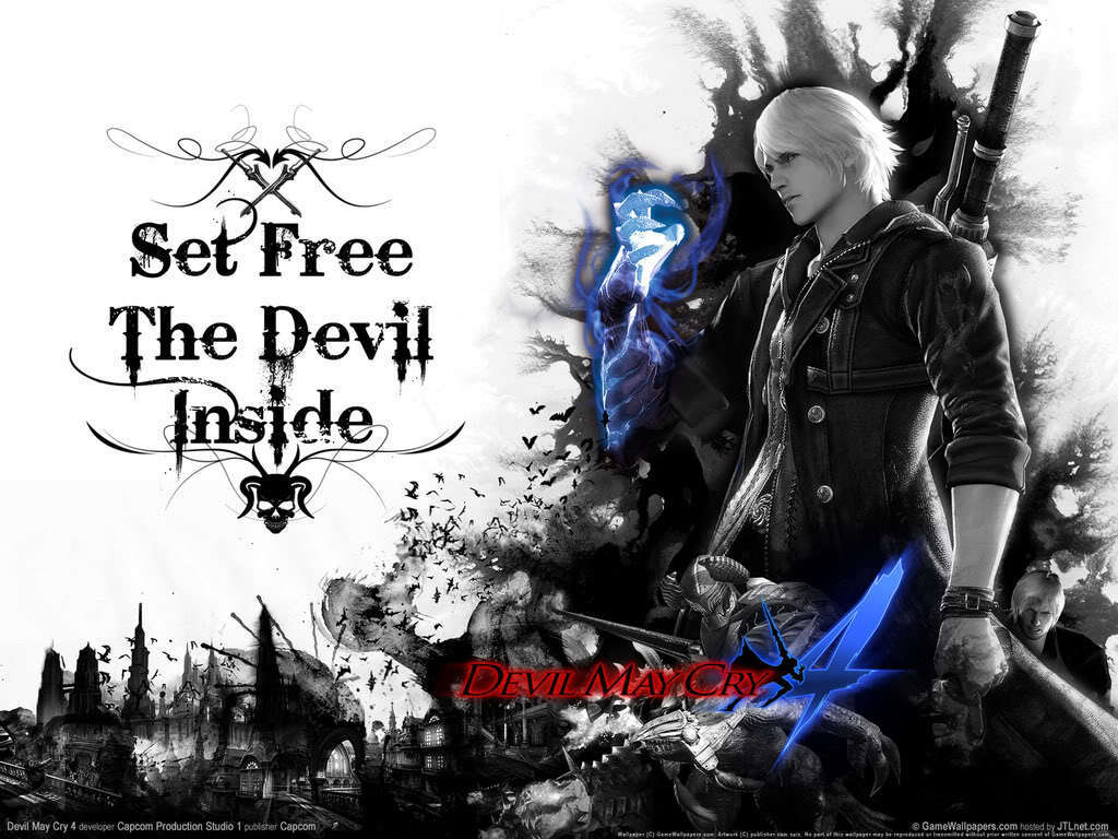 Nero Devil May Cry 4 Devil May Cry 4 Wallpaper 10480407 Fanpop