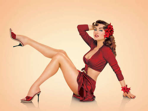 Vintage Pin Up Girls !