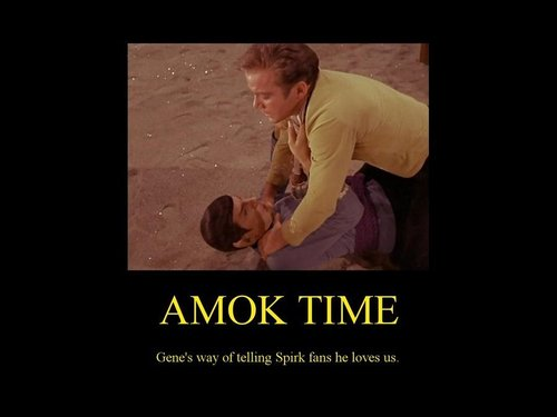 amok time = SEX