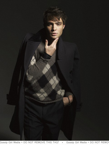 Ed Westwick photoshoot Elle Korea 2010