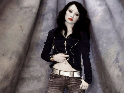 Emily Browning as a Vampire