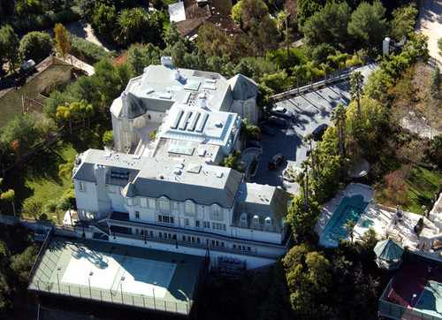 Michael's house in Beverly Hills, CA