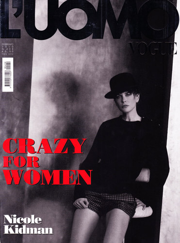Nicole in L'Uomo Italian Men's Vogue