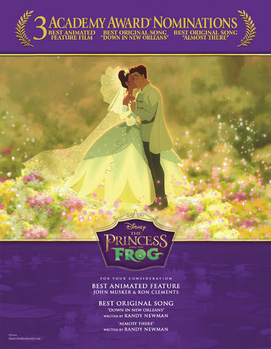 Princess and the Frog: For Your Consideration