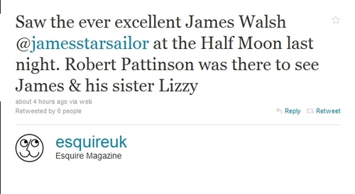 Robert Pattinson Was Out Supporting Lizzy Last Night