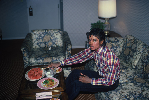 food and michael <3