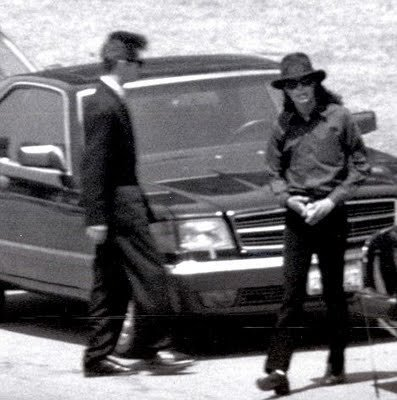 mj at his grandmother's funeral 1990