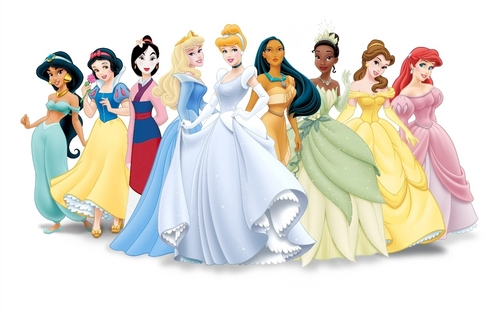 (Formal Mulan) Disney Princess Lineup