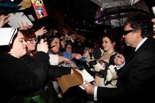 2010: Alice in Wonderland UK premiere
