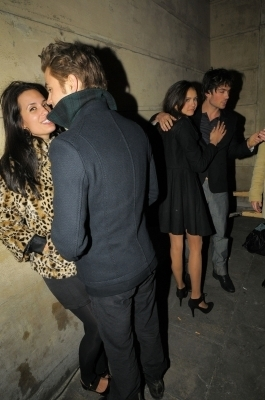 Paul/his girlfriend and Nina/Ian pic