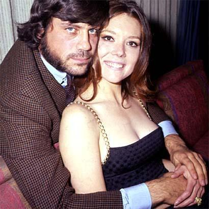 Diana with Oliver Reed